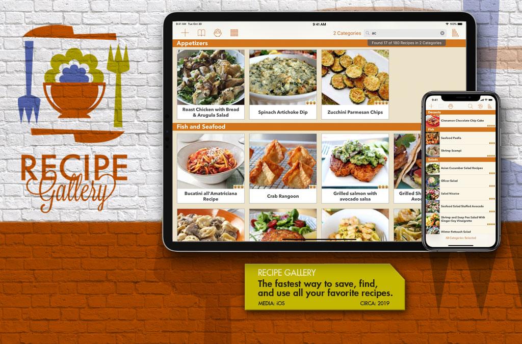 Recipe Gallery - iPad App