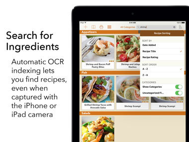 Recipe gallery ipad app find the recipe you want forumfinder Choice Image